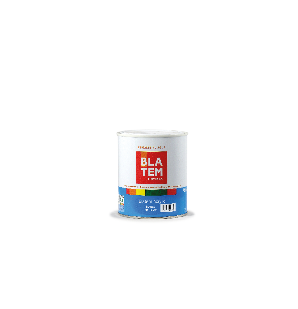Blatem acrylic brillante blanco 250 ml.