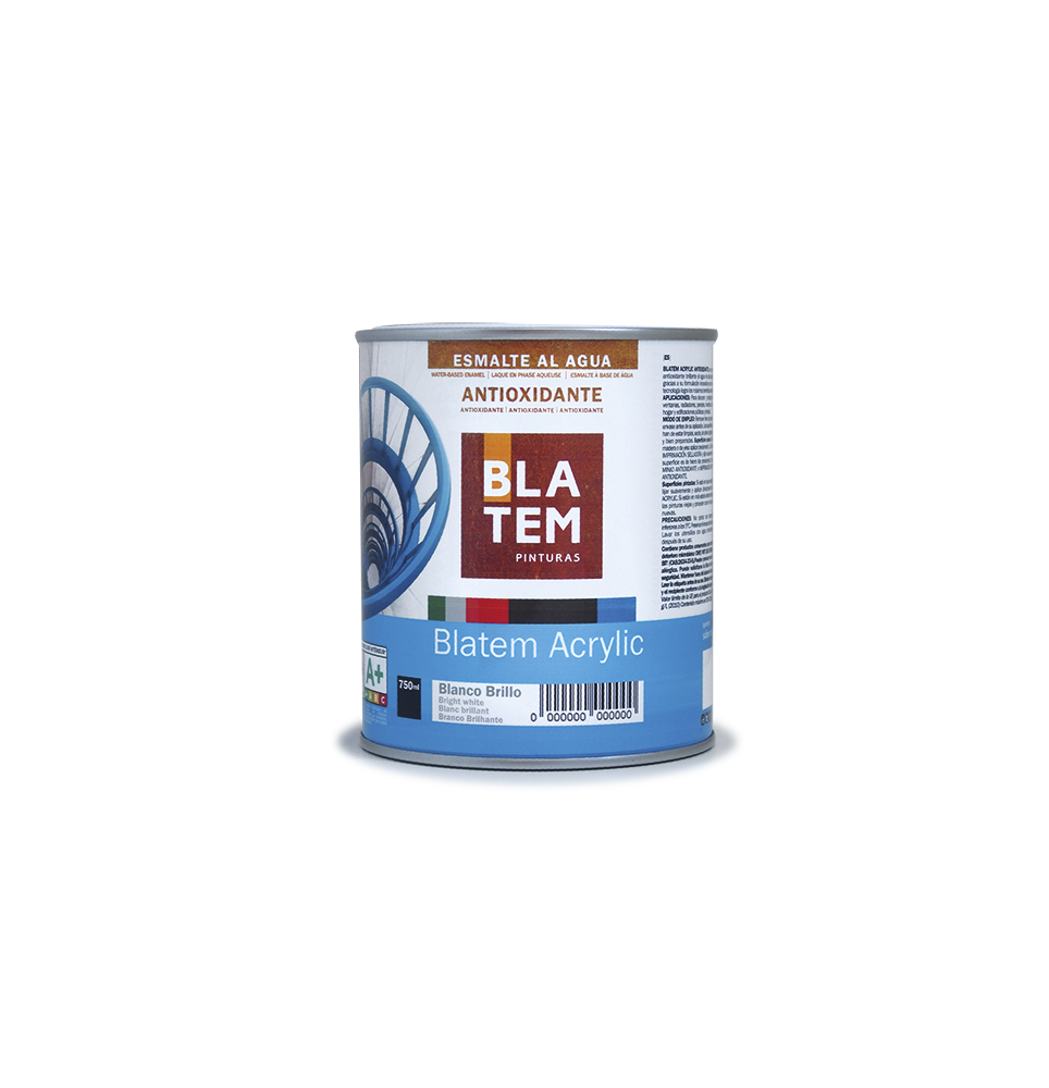 Blatem acrylic antioxidante blanco 750 ml.