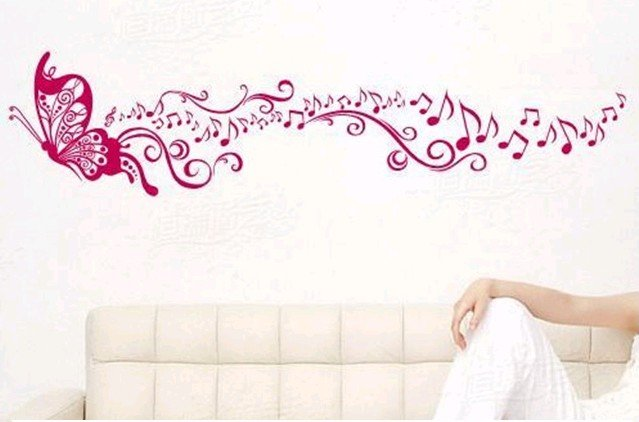 2011-NEW-PVC-beauty-music-Living-room-bedroom-wall-sticker-wall-decals ...